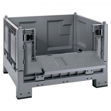 Plastikinis konteineris Cargo Fold 700 atlenkiamomis durimis