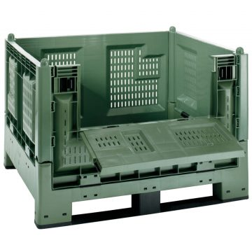 Plastikinis konteineris Cargo Fold 700 grating folding door