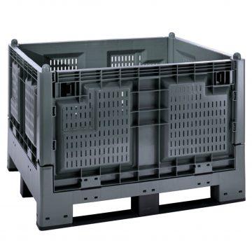 Plastikinis konteineris Cargo Fold 700 grating