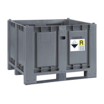 Plastikinis konteineris 600 Plius baterijoms